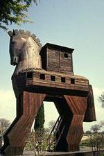 Троянський кінь. Реконструкція