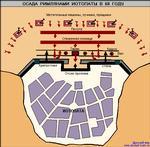 """Древний Рим.  Источник: Е. А. Разин  """"История военного искусства XXXI в. до н.э. - VI в. н.э. Карты и схемы."""